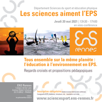 Les Sciences aiments l'EPS - 2021