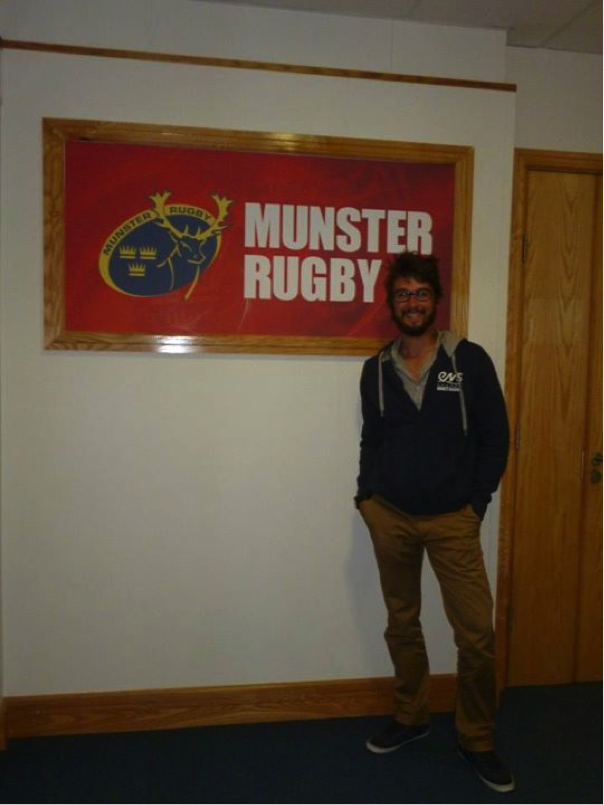 Charles Faure Munster Rugby