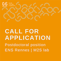 Call for application Postdoctoral position